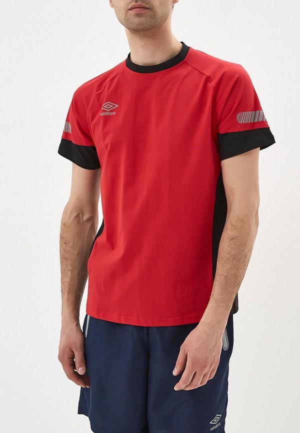 Футболка Umbro Umbro UM463EMAYHG7 футболка для мальчика umbro bradfield jersey l s цвет белый красный 60027u размер yxl 158