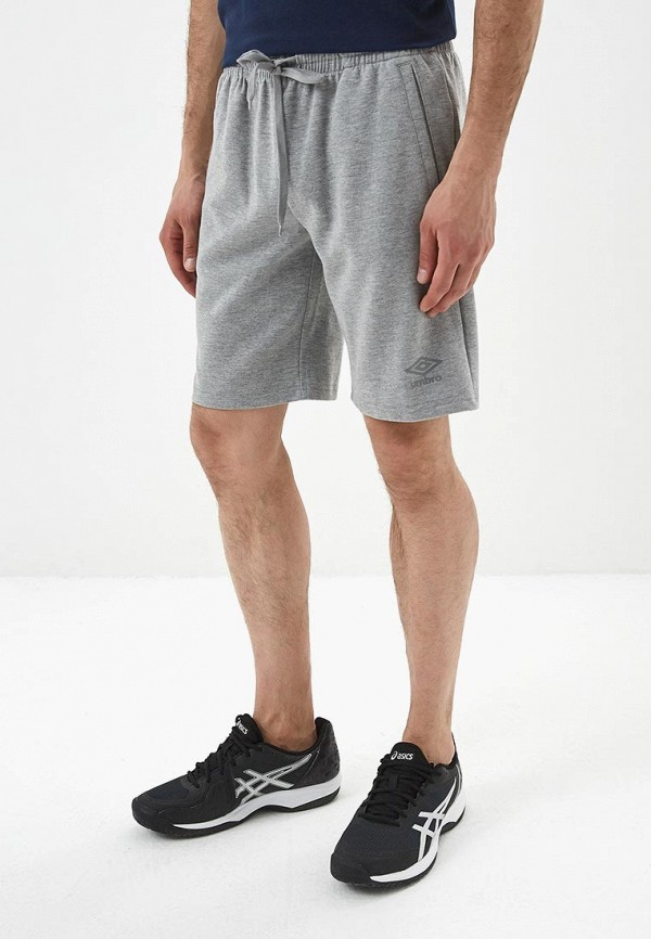 мужские шорты umbro, серые
