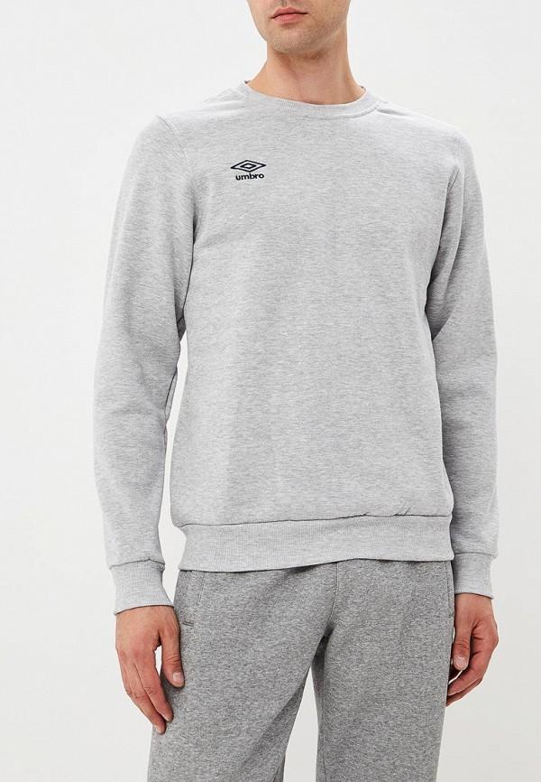 мужской свитшот umbro, серый