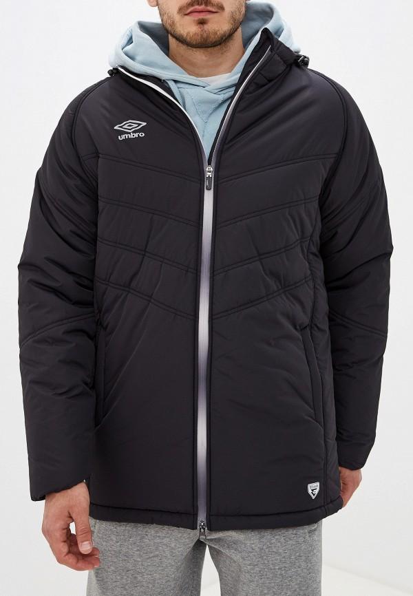 мужская куртка umbro, черная