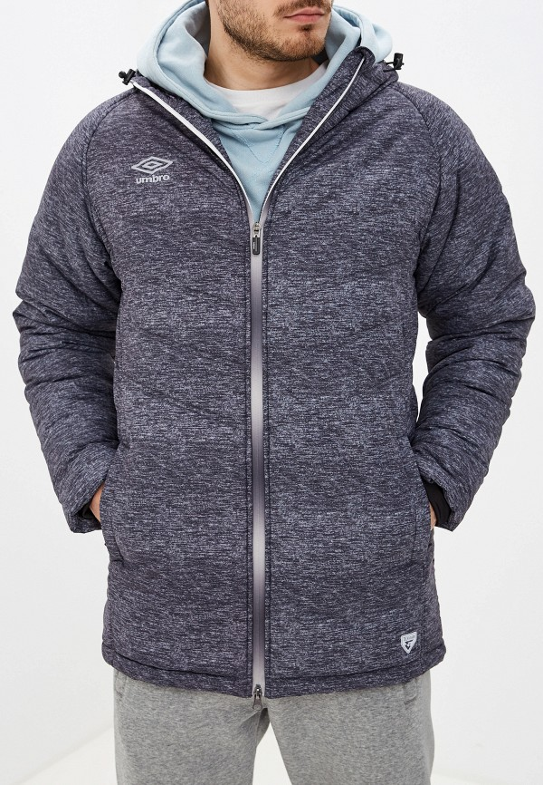 мужская куртка umbro, серая