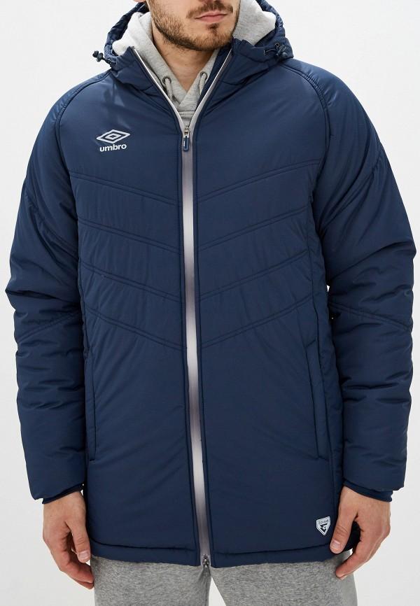 мужская куртка umbro, синяя