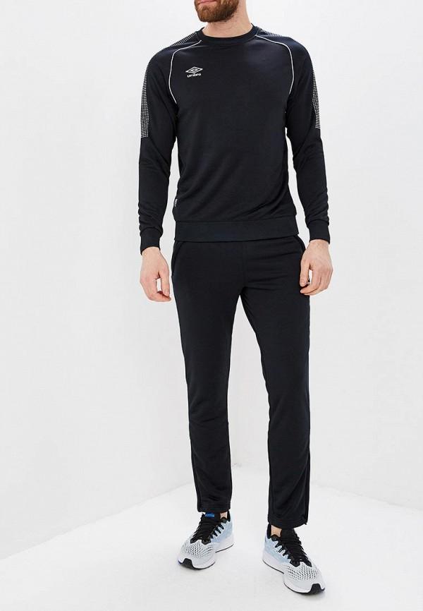 мужской спортивные спортивный костюм umbro, черный