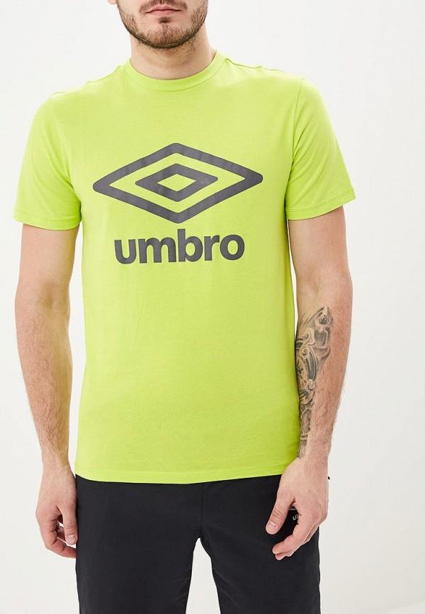 мужская футболка umbro, желтая