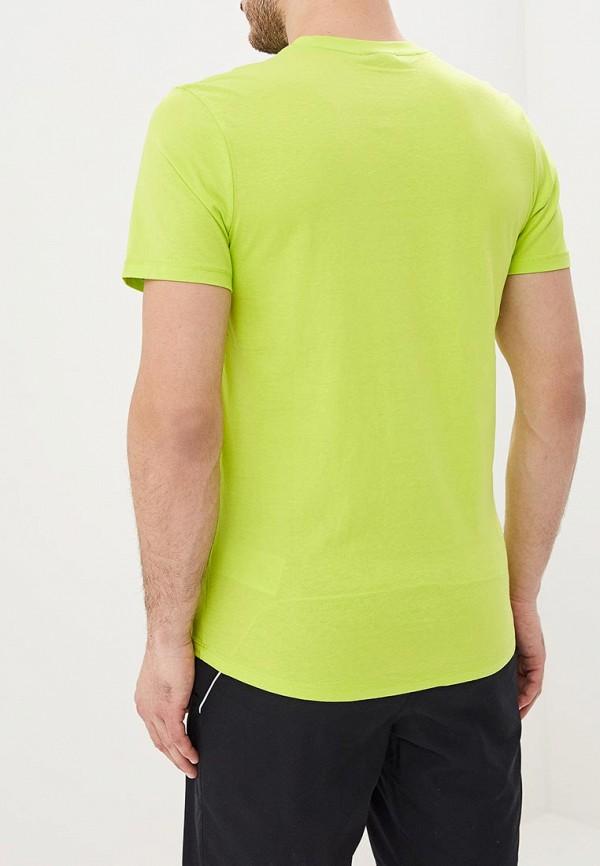 Фото 3 - мужскую футболку Umbro желтого цвета