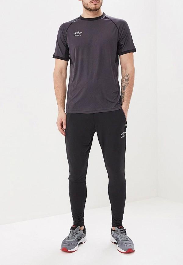 Фото 2 - Футболку спортивная Umbro серого цвета