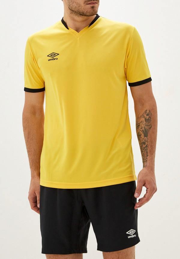 мужская спортивные футболка umbro, желтая