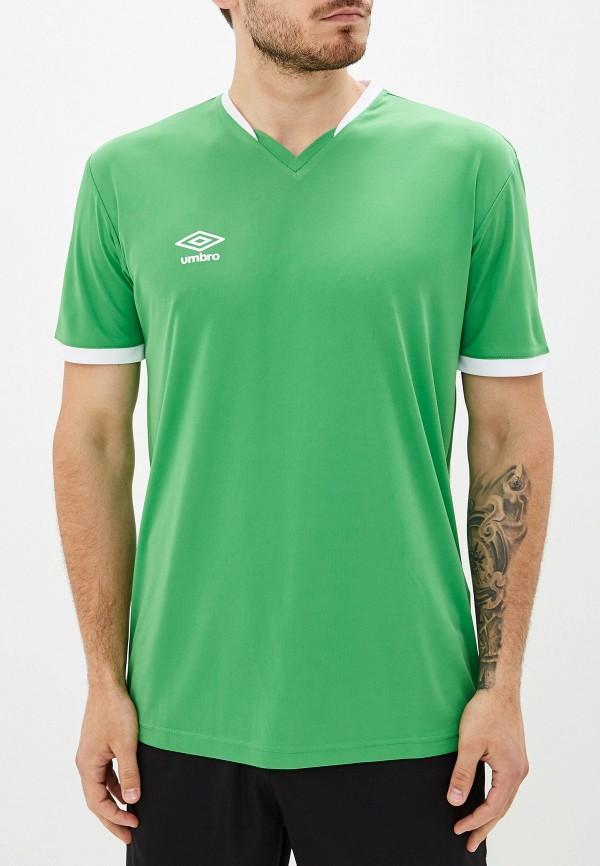 мужская спортивные футболка umbro, зеленая