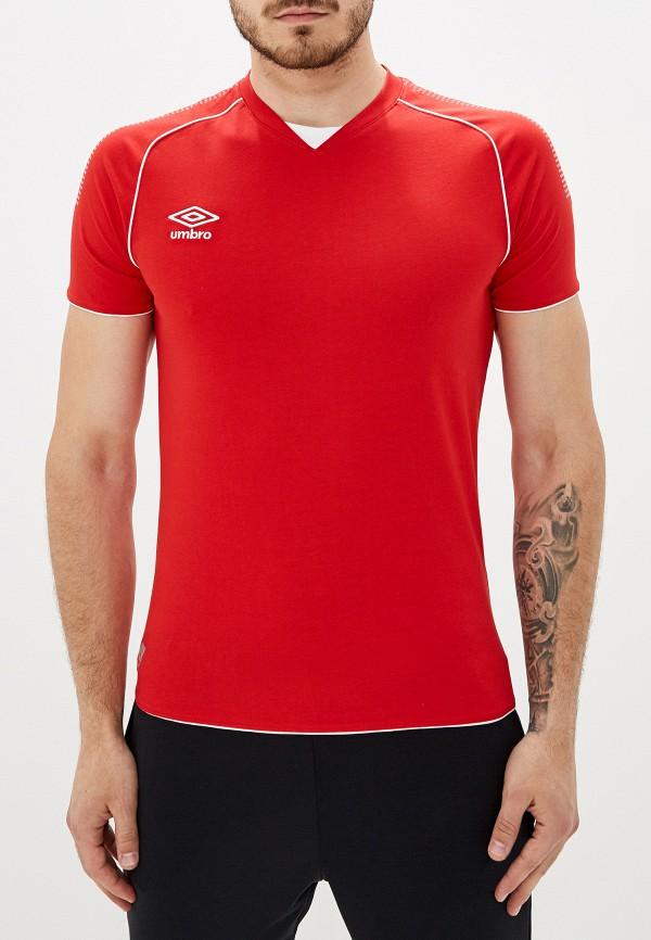 мужская спортивные футболка umbro, красная