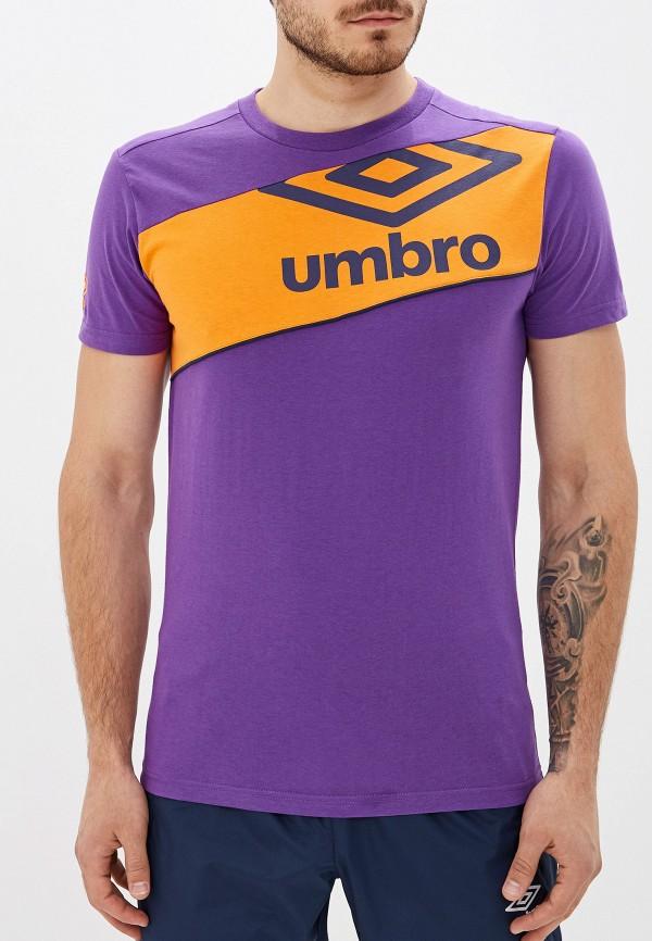 мужская спортивные футболка umbro, розовая