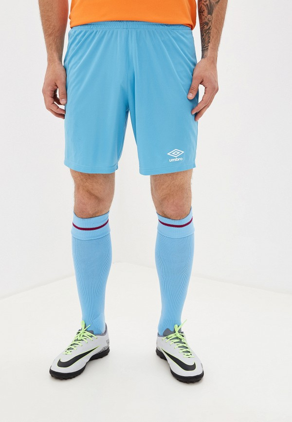 мужские спортивные спортивные шорты umbro, голубые