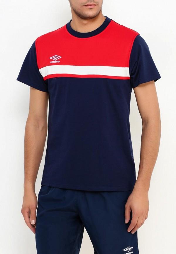 мужская спортивные футболка umbro, синяя