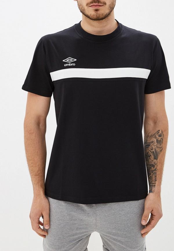 мужская спортивные футболка umbro, черная