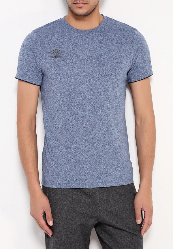 мужская спортивные футболка umbro, голубая