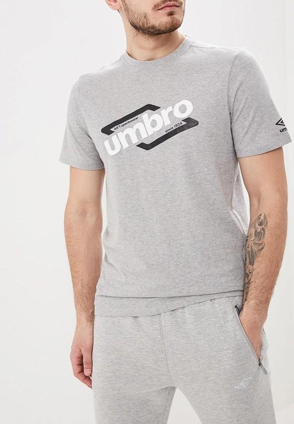 мужская спортивные футболка umbro, серая