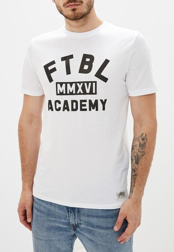 мужская спортивные футболка umbro, белая