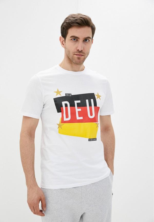 мужская футболка umbro, белая
