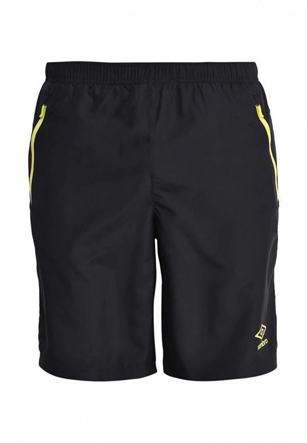 мужские спортивные шорты umbro, черные