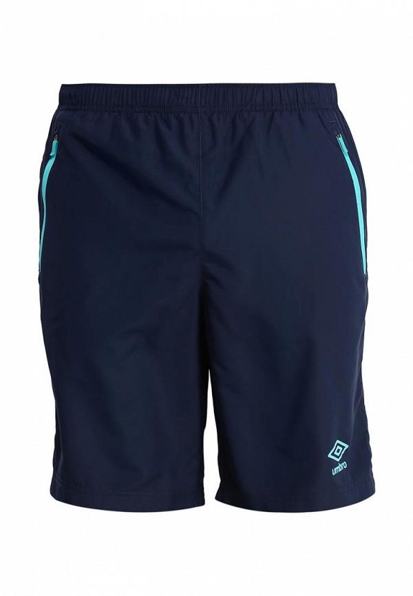 мужские спортивные шорты umbro, синие
