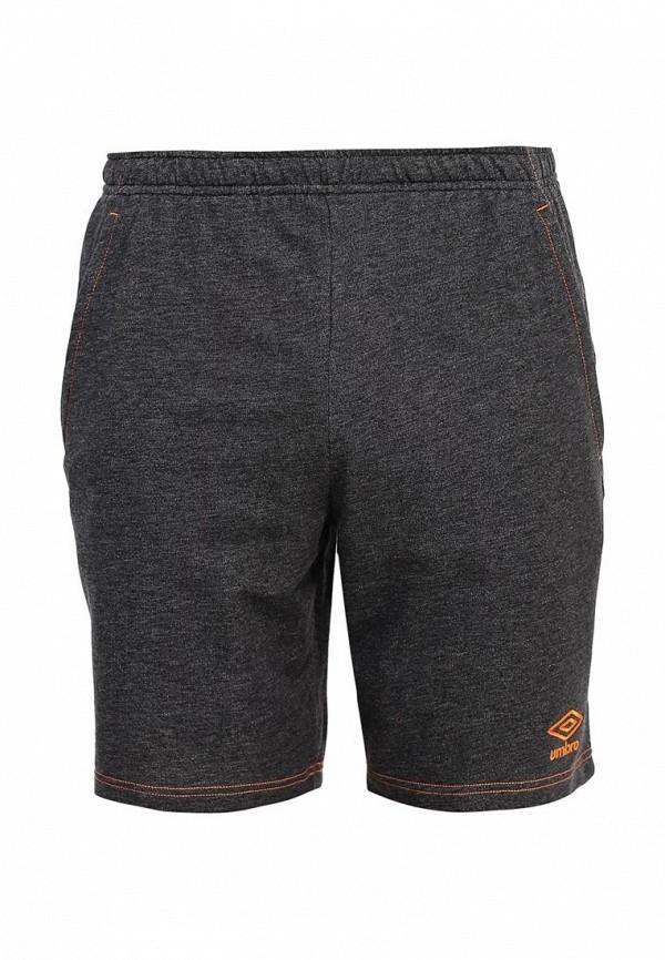 мужские спортивные шорты umbro, серые
