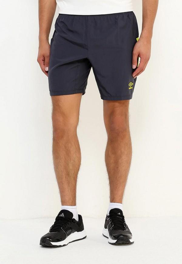мужские спортивные спортивные шорты umbro, серые