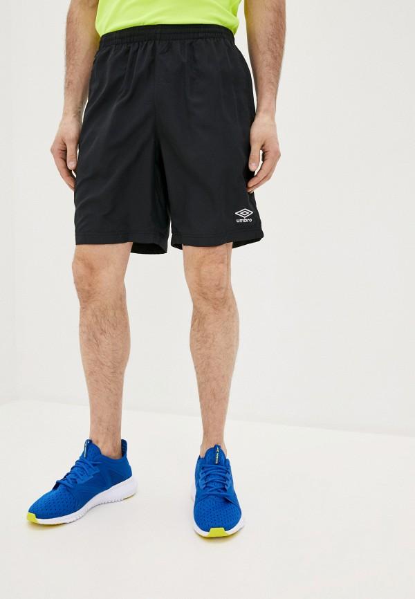 мужские шорты umbro, черные