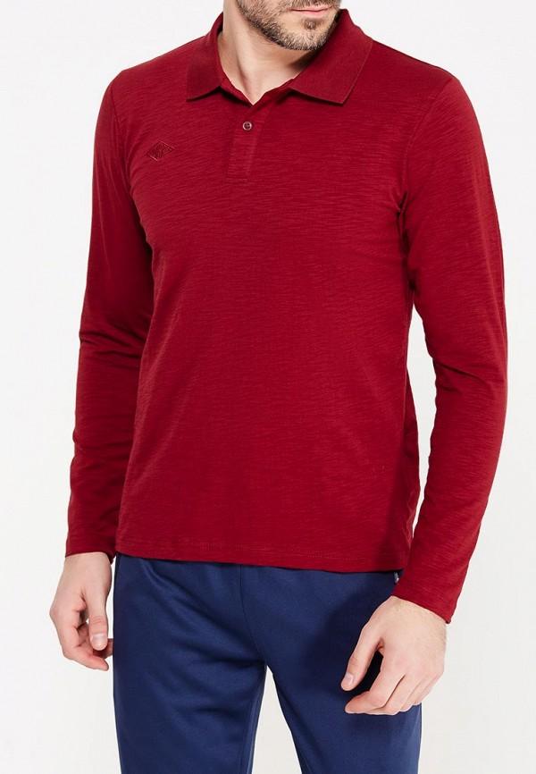 Купить Поло Umbro бордового цвета