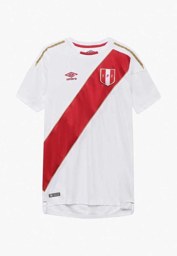 женская спортивные футболка umbro, белая