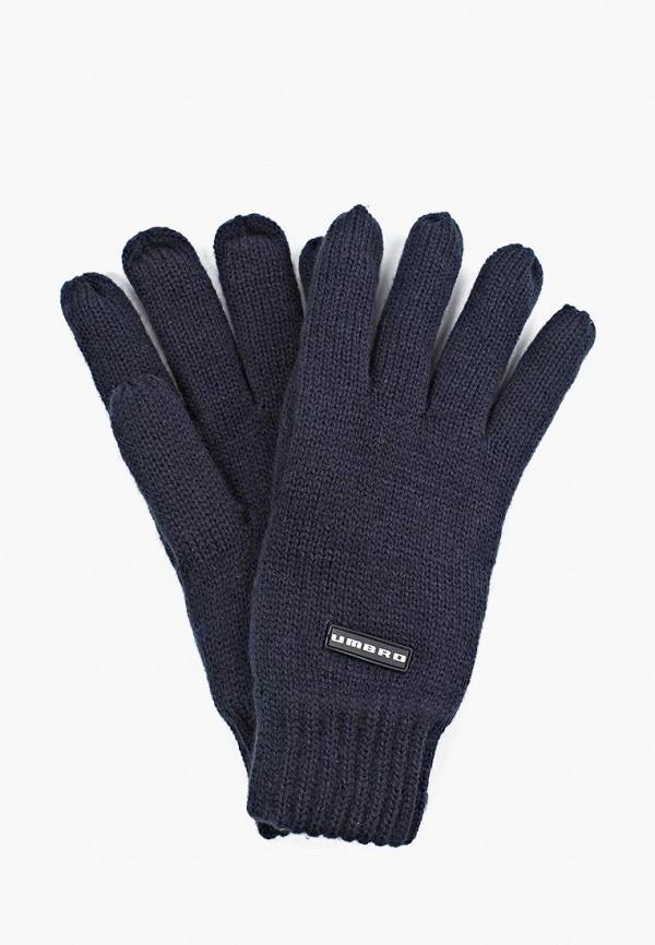 женские перчатки umbro, синие