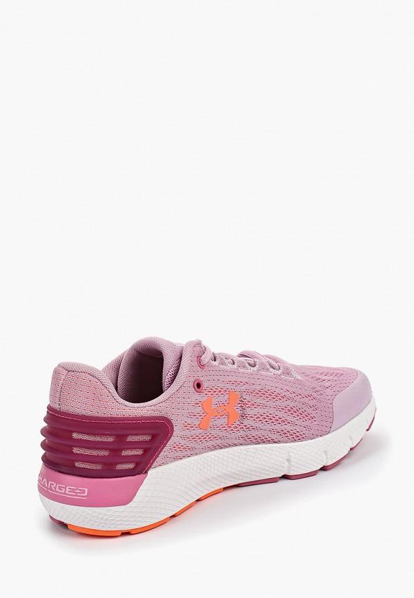 Фото 3 - Кроссовки Under Armour розового цвета