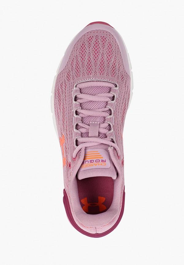 Фото 4 - Кроссовки Under Armour розового цвета