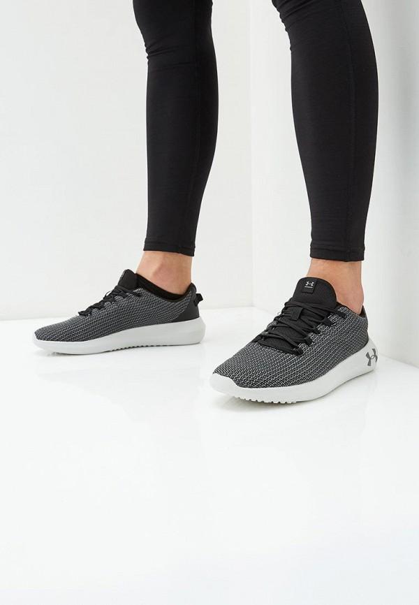 Фото 5 - мужские кроссовки Under Armour серого цвета