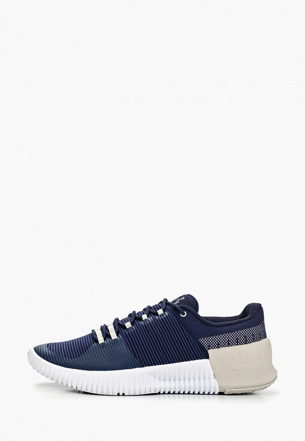 Фото - мужские кроссовки Under Armour синего цвета