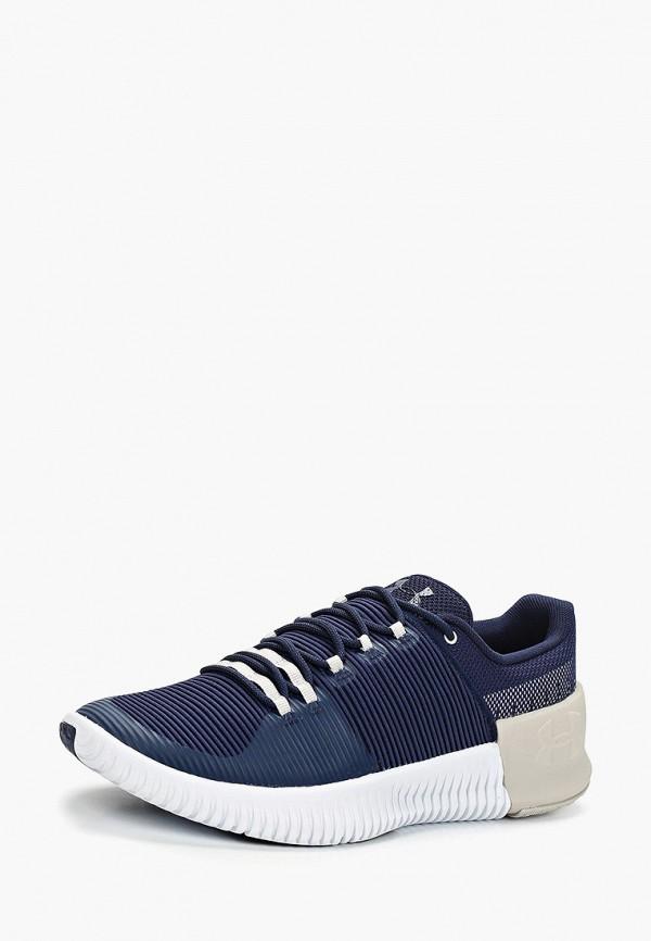 Фото 2 - мужские кроссовки Under Armour синего цвета