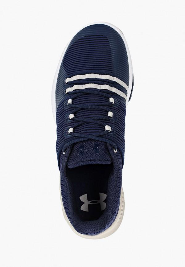Фото 4 - мужские кроссовки Under Armour синего цвета
