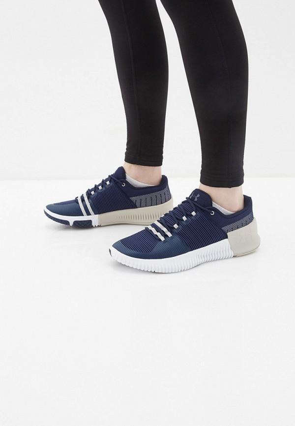 Фото 6 - мужские кроссовки Under Armour синего цвета