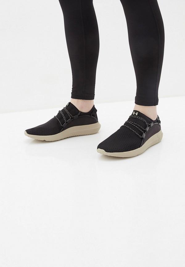 Фото 6 - мужские кроссовки Under Armour черного цвета