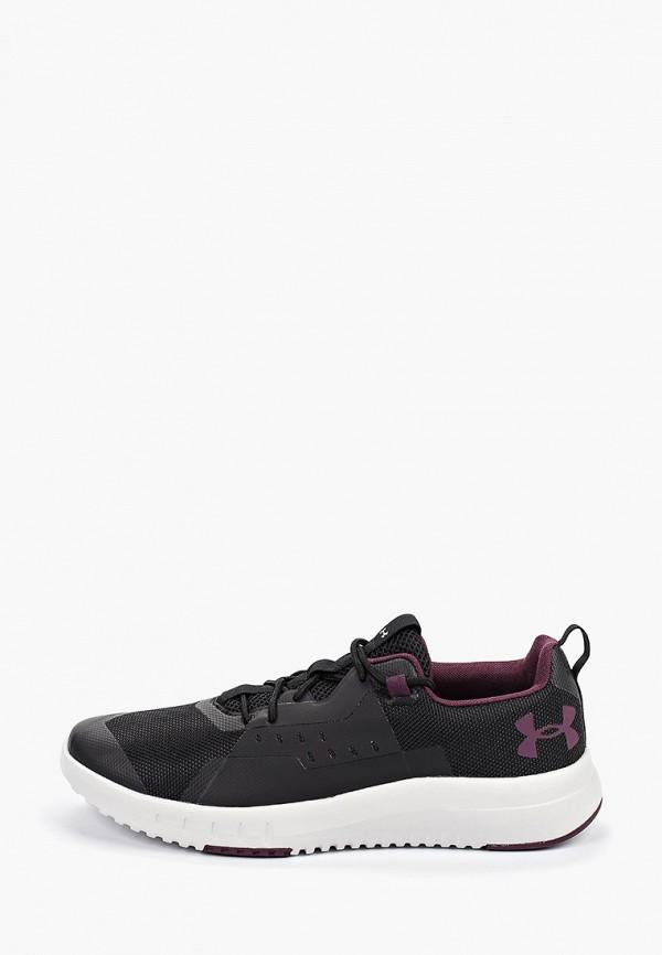 Фото - мужские кроссовки Under Armour черного цвета