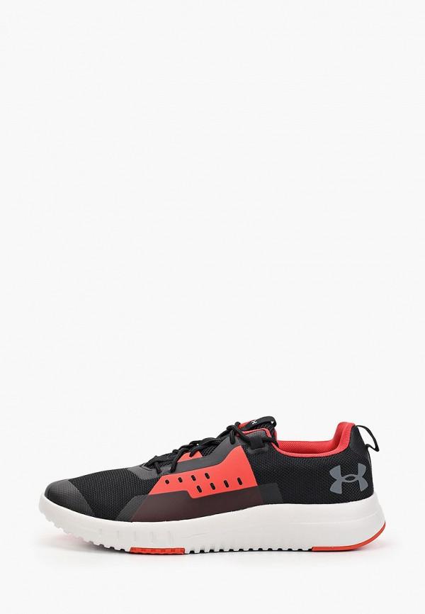 мужские низкие кроссовки under armour, черные
