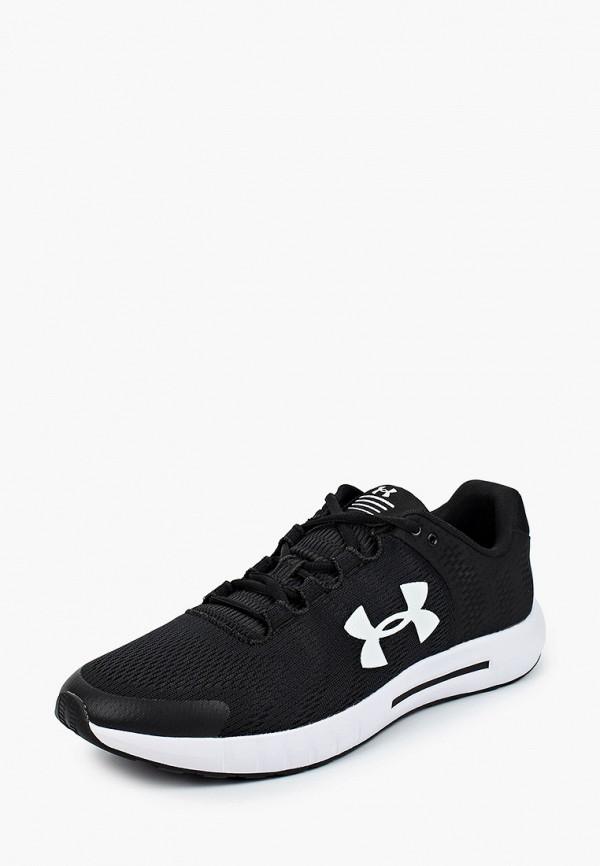 Фото 2 - мужские кроссовки Under Armour черного цвета