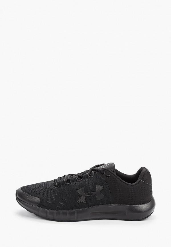 мужские кроссовки under armour, черные