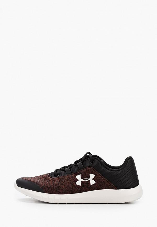 мужские низкие кроссовки under armour, коричневые