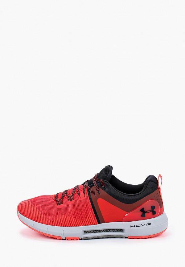 мужские низкие кроссовки under armour, красные