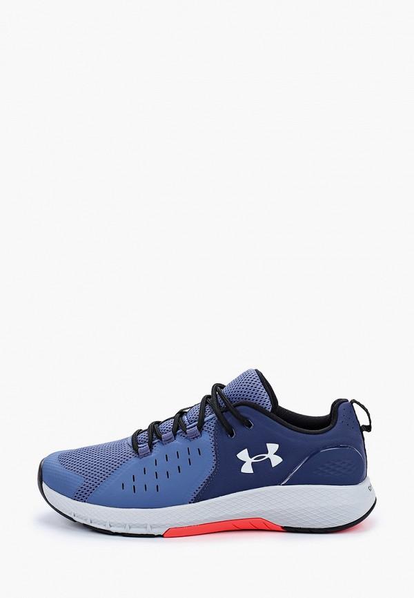мужские низкие кроссовки under armour, синие