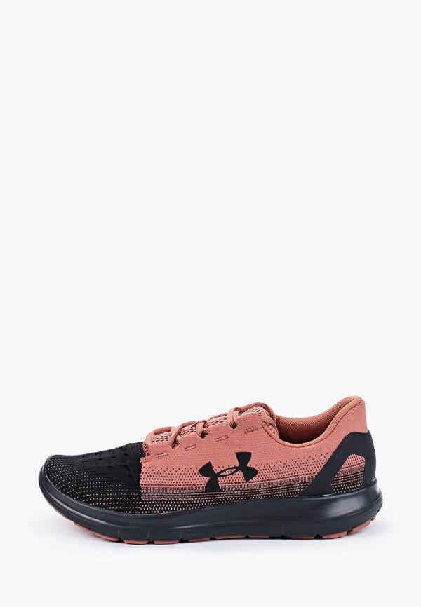 мужские кроссовки under armour, коричневые