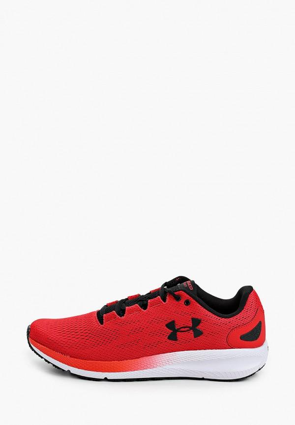 мужские кроссовки under armour, красные