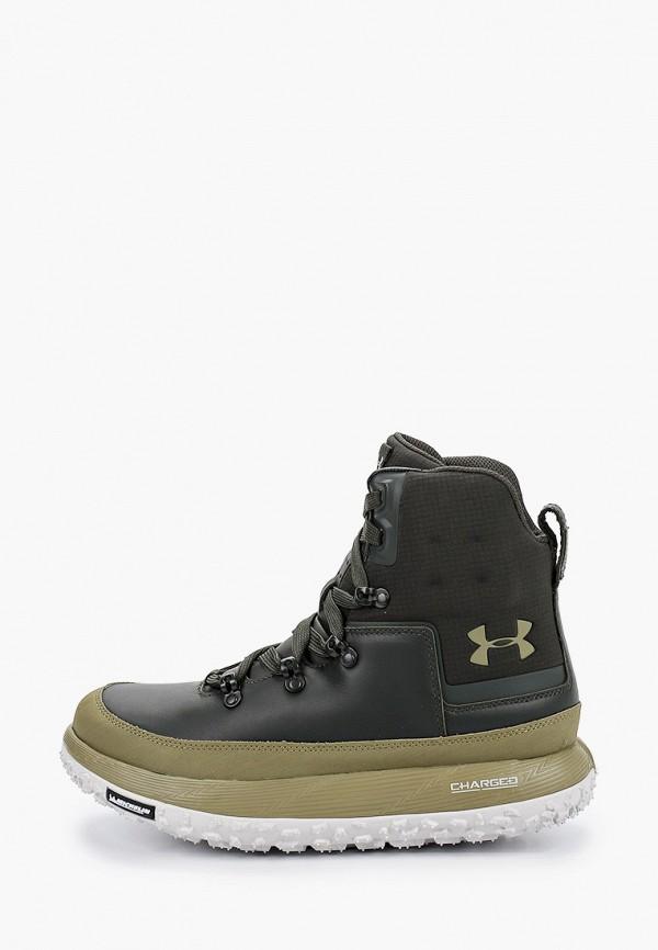 мужские ботинки under armour, хаки