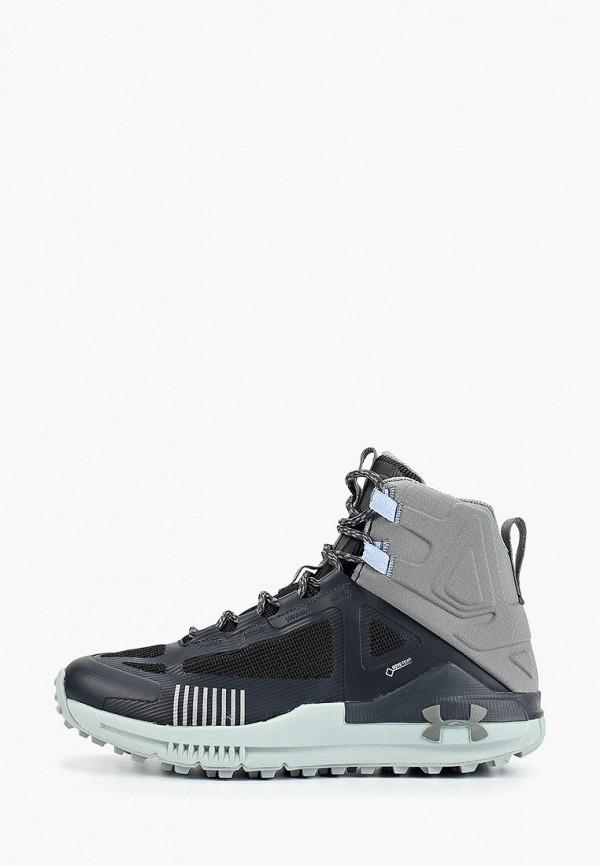 женские ботинки under armour, черные