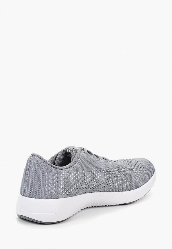 Фото 2 - женские кроссовки Under Armour серого цвета