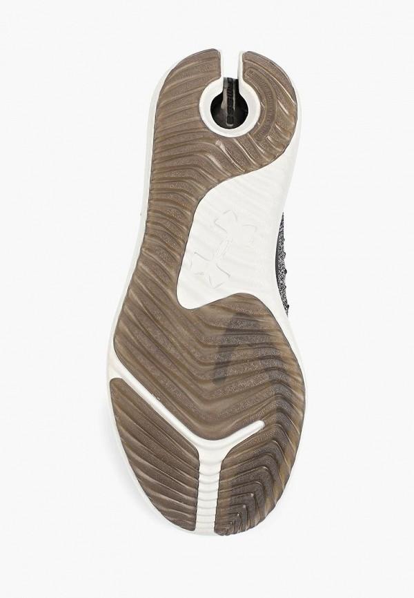 Фото 3 - женские кроссовки Under Armour серого цвета